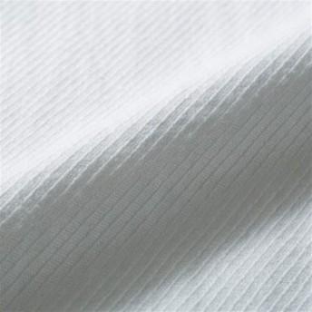 (シングル)USAコットン使用の上質なフランス綾のフラットシーツ ブルー