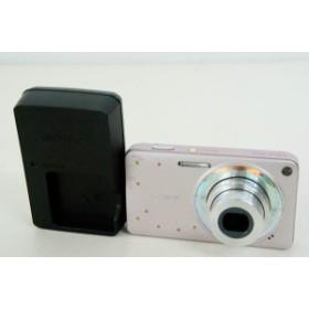 【中古】SONYソニー コンパクトデジタルカメラ Cyber-shotサイバーショット 1410万画素 DSC-W350D ジュエルピンク