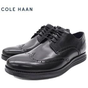 コールハーン シューズ COLE HAAN メンズ オリジナル グランド ウィングチップ オックスフォード Black/Black(ORIGINAL GRAND C27984)