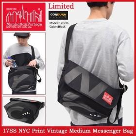 マンハッタンポーテージ Manhattan Portage メッセンジャーバッグ 17SS NYC プリント ビンテージ ミディアム(NYC Print MP1606VJRNYC17SS)