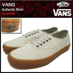 バンズ VANS スニーカー オーセンティック Birch ガムソール メンズ 男性(vans VN-0W4NDVQ Authentic Birch Gumsole ローカット)
