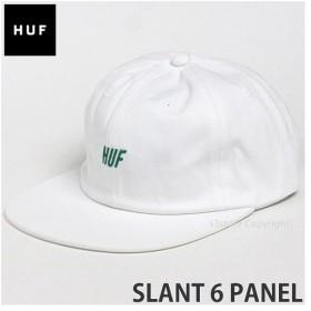 ハフ スラント 6 パネル キャップ HUF SLANT 6 PANEL 帽子 6パネル スケートボード Keith Hufnagel SKATEBOARD CAP カラー:WHITE