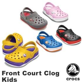 クロックス CROCS  フロント コート クロッグ キッズ Front Court Clog Kids  サンダル ベビー&キッズ 子供用 [AA]