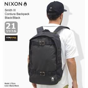 ニクソン リュック nixon スミス 3 コーデュラ バックパック ブラック/ブラック(Smith III Cordura Backpack Black/Black NC28151148)