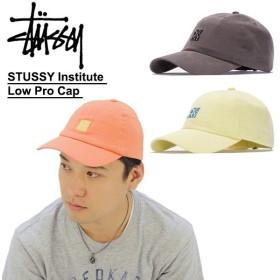 ステューシー STUSSY STUSSY Institute Low Pro Cap キャップ 帽子[BB]