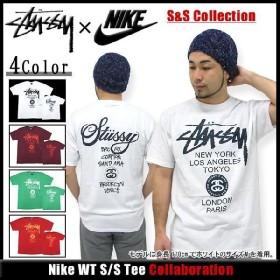 ステューシー STUSSY×NIKE S&S Collection Nike WT Tシャツ 半袖 コラボ(stussy nike ナイキ tee ティーシャツ T-SHIRTS トップス メンズ 3902382)