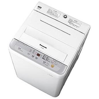 【訳あり/展示未使用/正面左角ヘコミ有り】Panasonic(パナソニック)全自動洗濯機 NA-F50B10-S シルバー [配達日、時間指定不可]