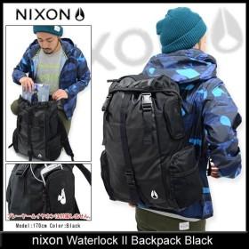 ニクソン nixon リュック ウォーターロック 2 バックパック ブラック(nixon Waterlock II Backpack Black メンズ レディース NC1952000)