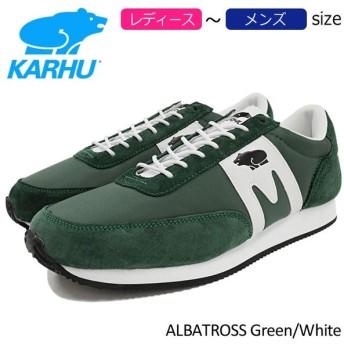カルフ KARHU スニーカー レディース & メンズ アルバトロス Green/White(karhu ALBATROSS KH802518 F802518)