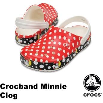 クロックス CROCS クロックバンド ミニー クロッグ crocband Minnie clog メンズ レディース サンダル 男女兼用 [BB]