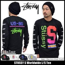 ステューシー STUSSY S Worldwide Tシャツ 長袖(stussy tee ティーシャツ T-SHIRTS トップス ロンt メンズ・男性用 1993467)
