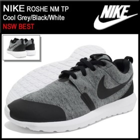 ナイキ NIKE スニーカー メンズ 男性用 ローシ NM TP Cool Grey/Black/White 限定(nike ROSHE NM TP NSW BEST 749658-002)