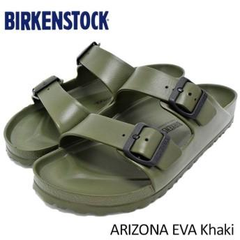 ビルケンシュトック BIRKENSTOCK サンダル メンズ 男性用 アリゾナ EVA Khaki(ARIZONA EVA 幅広 レギュラー カーキ GE129491)
