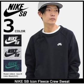 ナイキ NIKE トレーナー メンズ SB アイコン フリース クルー スウェット SB(nike SB Icon Fleece Crew Sweat トップス 男性用 800154)