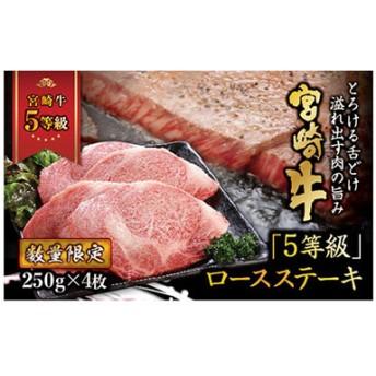 「最高ランク5等級」宮崎牛ロースステーキ(1kg)