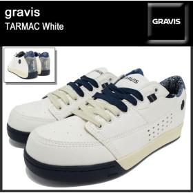 グラビス gravis スニーカー メンズ 男性用 ターマック ホワイト(gravis TARMAC White 12832104-100)