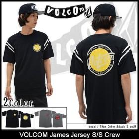 ボルコム カットソー 半袖 VOLCOM メンズ ジェームズ ジャージ(VOLCOM James Jersey S/S Crew トップス メンズ 男性用 A0121508)