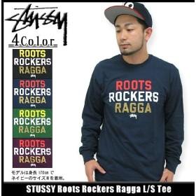 ステューシー STUSSY Roots Rockers Ragga Tシャツ 長袖(stussy tee ティーシャツ T-SHIRTS トップス ロンティー メンズ 1993101)
