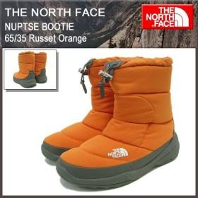 ザ ノースフェイス THE NORTH FACE ヌプシ ブーティー 65/35 ラシット オレンジ メンズ(NUPTSE BOOTIE 65/35 Orange ブーツ NF51486-RO)