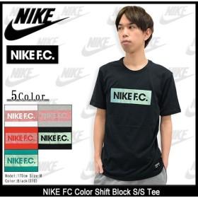 ナイキ NIKE Tシャツ 半袖 メンズ ナイキ FC カラー シフト ブロック(NIKE FC Color Shift Block S/S Tee トップス 男性用 805522)