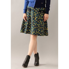 LOVELESS 【LOVELESS】ハートプリントフレアスカート その他 スカート,ネイビー