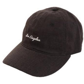 【Super Sports XEBIO & mall店:帽子】リネン刺繍 Los A キャップ 897PA9ST1670 BLK