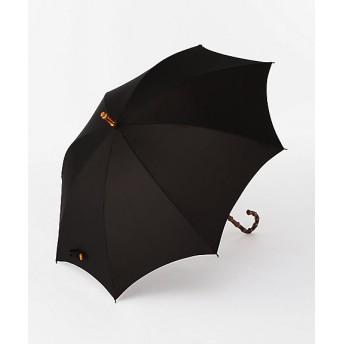 <ボンボンストア> バイカラー長雨傘 ブラック 【三越・伊勢丹/公式】