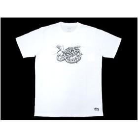 ステューシー STUSSY Rattlesnake Tシャツ 半袖(stussy tee ティーシャツ メンズ 男性用 0900069)