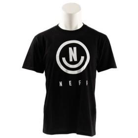 ネフ(NEFF) 半袖Tシャツ NES17NEU TEE BLK (Men's)