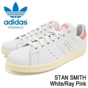アディダス adidas スニーカー メンズ 男性用 スタン スミス White/Ray Pink オリジナルス(adidas STAN SMITH Originals S80024)