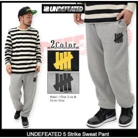 アンディフィーテッド UNDEFEATED パンツ メンズ ファイブ ストライク スウェットパンツ(5 Strike Sweat Pant ボトムス 男性用 516124)