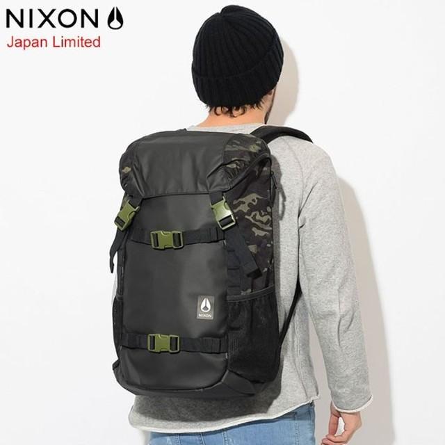 ニクソン リュック nixon ランドロック 3 バックパック ブラック/ブラックカモ 日本限定(Landlock Backpack Black/Black Camo NC28133111)