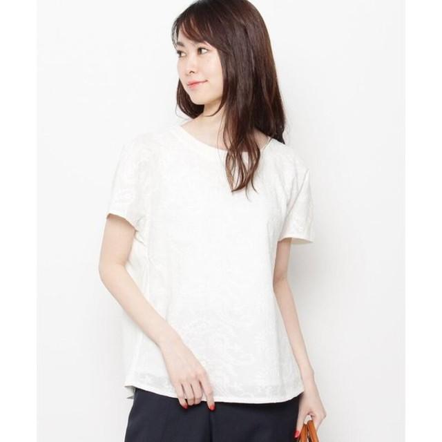 Airpapel / エアパペル 【洗える】ペイズリーコットンプルオーバー