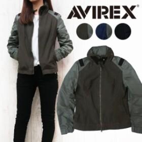AVIREX アビレックス コンビショートジャケット フライトジャケット レディース アウター ミリタリーコート avi6272049