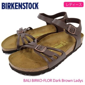 ビルケンシュトック BIRKENSTOCK サンダル レディース 女性用 バリ ビルコフロー Dark Brown(BALI BIRKO-FLOR 幅狭 ナロー GC085063)