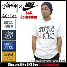 ステューシー STUSSY×NIKE S&S Collection Stussy&Nike Tシャツ 半袖 コラボ(stussy nike ナイキ tee ティーシャツ T-SHIRTS トップス メンズ 3902379)