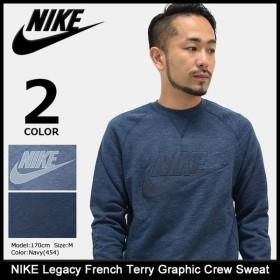 ナイキ NIKE トレーナー メンズ レガシー フレンチ テリー グラフィック クルー スウェット(Legacy French Terry Graphic Sweat 872399)