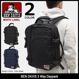 ベンデイビス リュック BEN DAVIS 3 ウェイ デイパック ホワイトレーベル(BDW-9171 3 Way Daypack バックパック メンズ レディース)