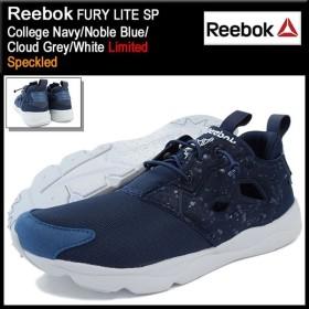 リーボック Reebok スニーカー メンズ 男性用 フューリー ライト SP College Navy/Noble Blue/Cloud Grey/White 限定(FURY LITE SP AQ9955)