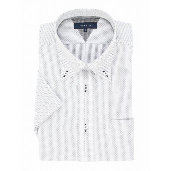 [マルイ] 形態安定レギュラーフィットボタンダウン半袖シャツ/タカキュー(TAKA-Q)