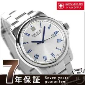 13日なら全品5倍以上&1,000円割引クーポン! スイスミリタリー ローマン メンズ クオーツ ML-377 SWISS MILITARY 腕時計 シルバー