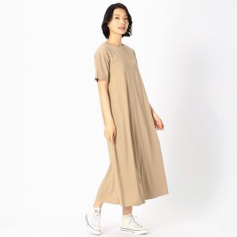コムサイズム COMME CA ISM 【カラバリ豊富!】Tシャツ ワンピース(ベージュ)