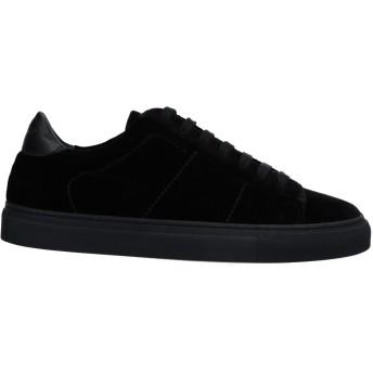 《セール開催中》DONDUP レディース スニーカー&テニスシューズ(ローカット) ブラック 36 紡績繊維 / 革