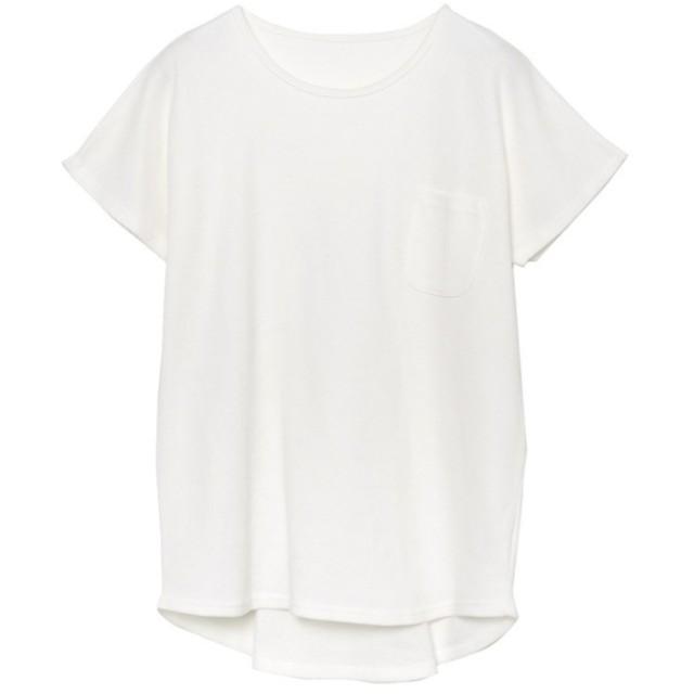 Re: EDIT コットンワッフル胸ポケットTシャツ オフホワイト
