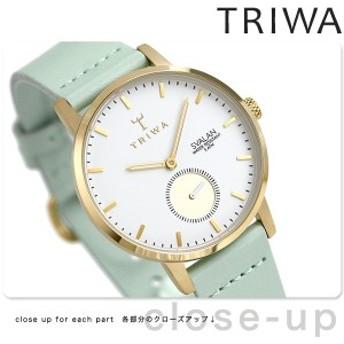 【あす着】TRIWA トリワ 時計 スウェーデン 北欧 スモールセコンド 34mm レディース 腕時計 スバーラン SVST105-SS113113