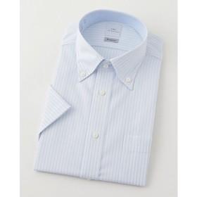 <SMC> 半袖ストライプワイシャツ(CMN621-450)(MO016N0MO00000GI6) 450スカイブルー 【三越・伊勢丹/公式】