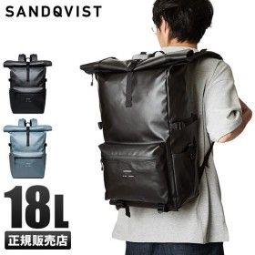最大+28%!12/7〜|サンドクヴィスト リュック メンズ ブランド 撥水 防水 ロールトップ 18L SANDQVIST RUBEN