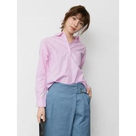 【5,000円以上お買物で送料無料】エシカルストライプリラックスシャツ