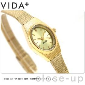 ヴィーダプラス VIDA+ V ジャパンメイド 16mm レディース V-001-C 腕時計 ゴールド