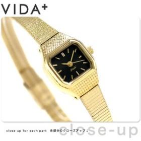 ヴィーダプラス VIDA+ V ジャパンメイド 16mm レディース V-002-B 腕時計 ブラック